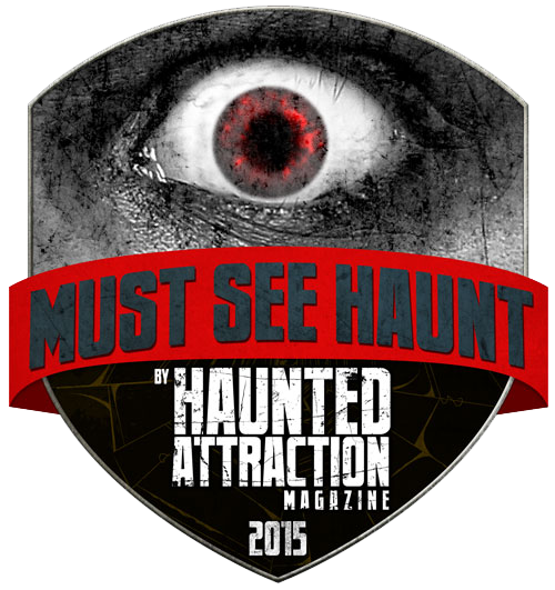 Haunted Attraction Magazine Must See 2015 Badge