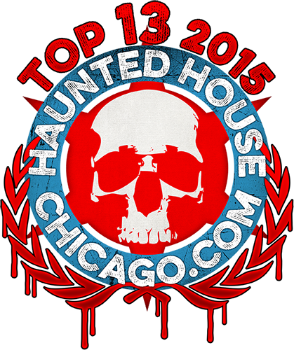 Haunted House Chicago Top 13 2015 Badge
